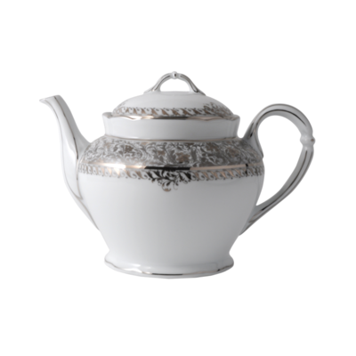 BERNARDAUD FRANCE EDEN PLATINUM Teapot