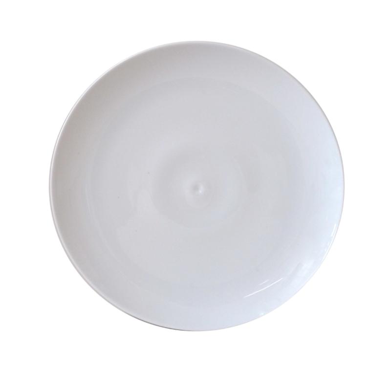 BERNARDAUD FRANCE BULLE White Salad plate – 8.3″