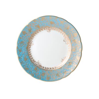BERNARDAUD FRANCE EDEN TURQUOISE Salad Plate 8.5″