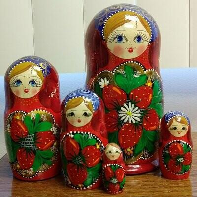 Strawberry Nesting Doll - 7