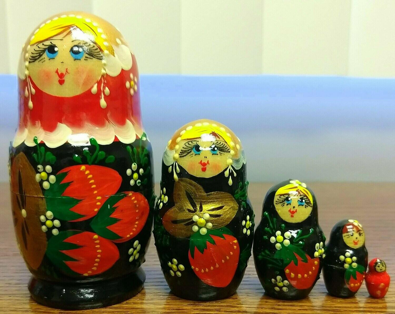 Strawberry Nesting Doll 5
