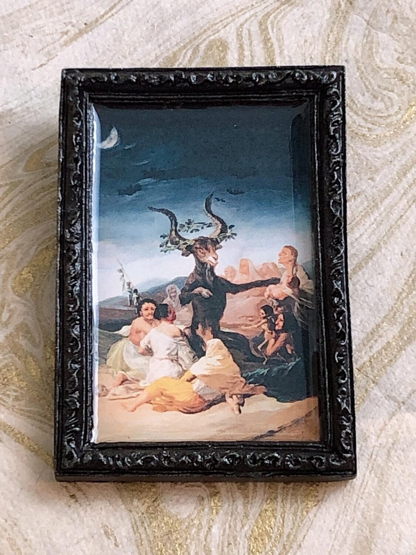 frame brooch (sabbath)