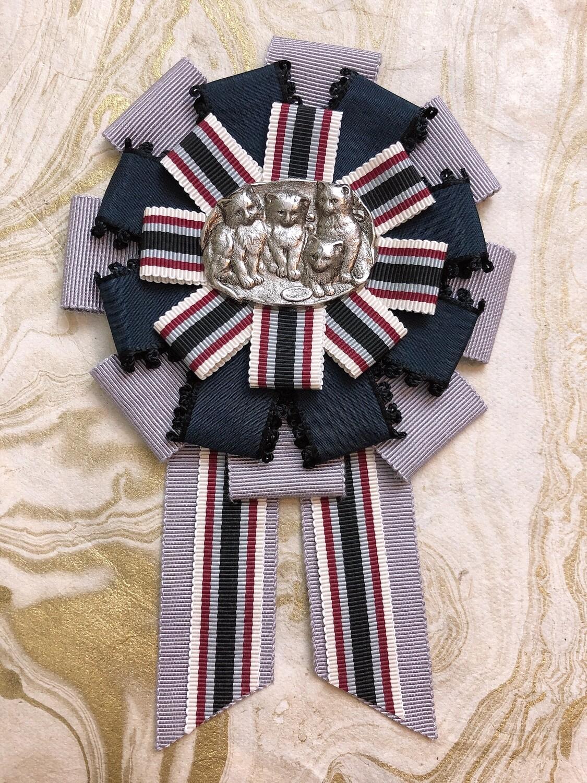cat family rosette (regimental)