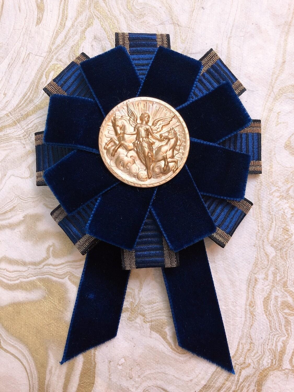 victory's medal rosette