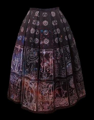 mystic tarot long skirt - size 16