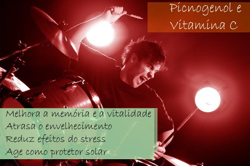 Picnogenol 75mg + Vitamina C 200mg - Cápsula