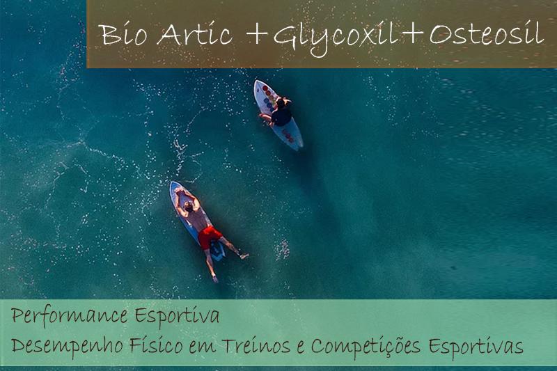 Bio Artic 100mg; Glycoxil 100mg; Osteosil 100mg - Cápsulas (Com selo de autenticidade)