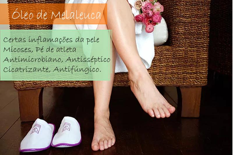 Óleo de Melaleuca - Óleo