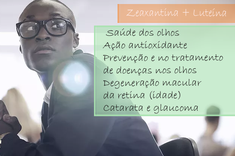Zeaxantina 3mg; Luteína 10mg/ - Cápsula (Antioxidantes para a saúde dos olhos)
