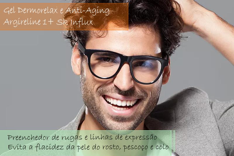 Gel Dermorelax   e Anti-Aging com argireline 10% e Sk Influx 8% - Gel