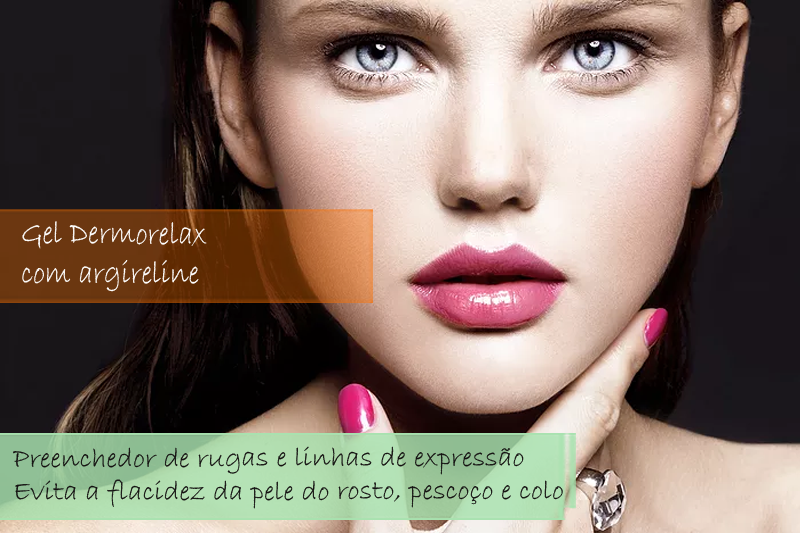 Gel Dermorelax  com argireline 10% - Gel
