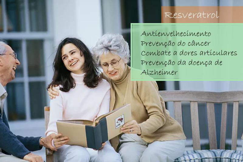 Resveratrol 30mg - Cápsulas (cápsula da longevidade)