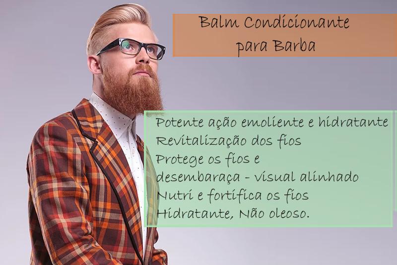 Balm Condicionante para Barba - Condicionador Balm
