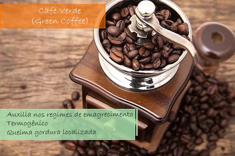 Café Verde (Green Coffee) Extrato Seco 300mg - Cápsula
