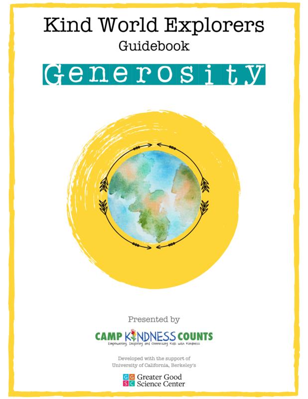 Generosity Guidebook