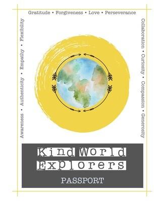 Kind World Explorers PASSPORT