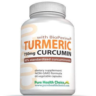 Turmeric Curcumin 750 with BioPerine