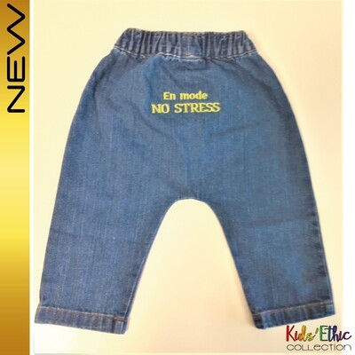 Baby pantalon  Denim Bio