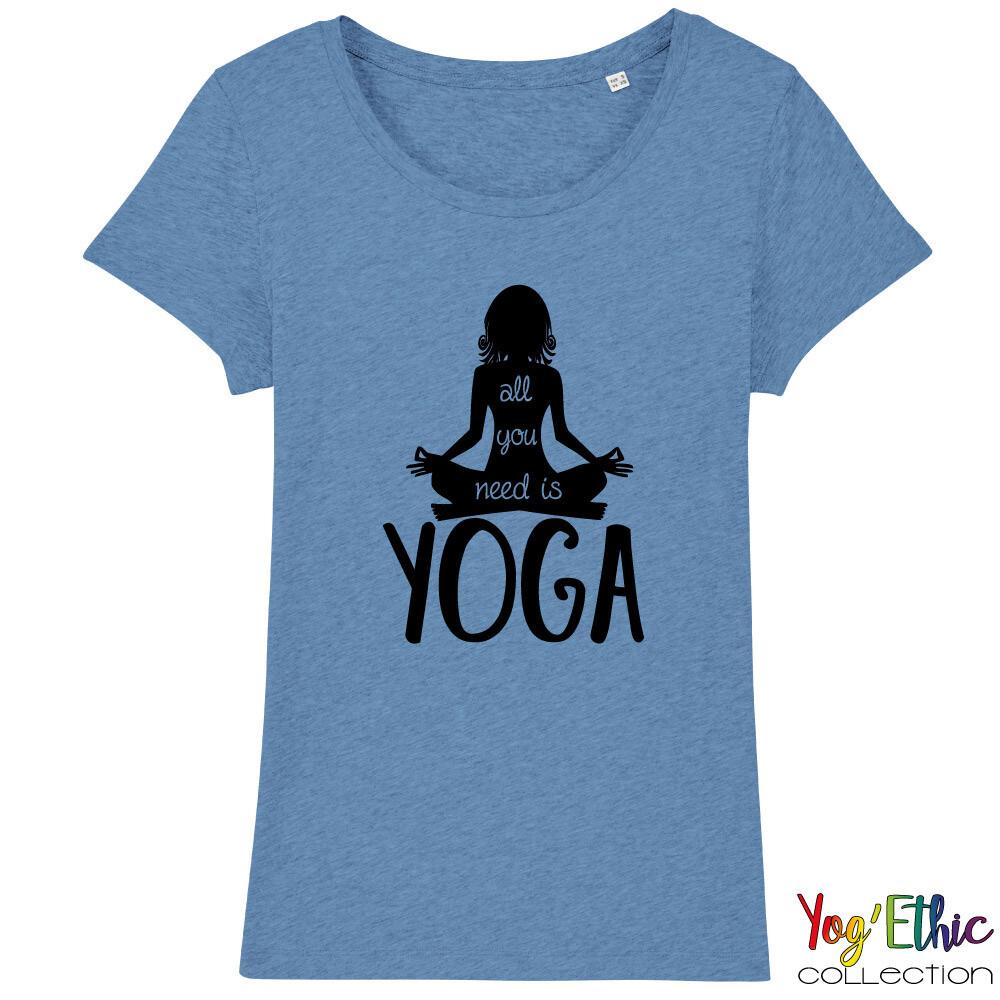 T-shirt Femme BIO Yog'Ethic