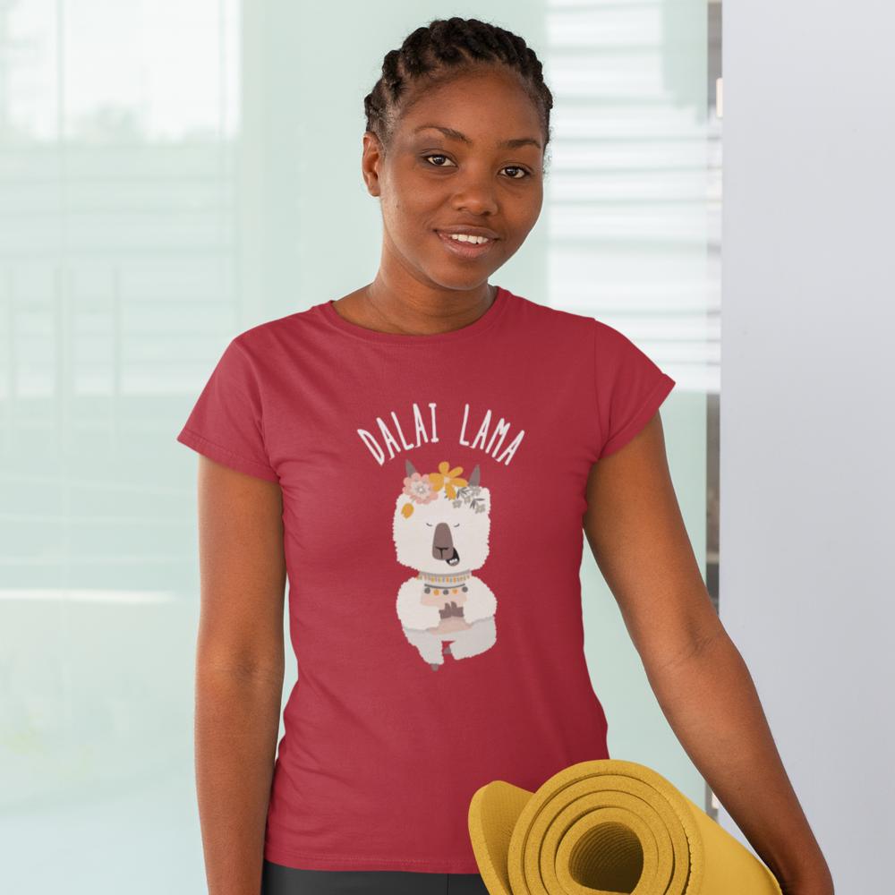 """T-shirt Femme BIO motif  """"DALAI LAMA"""""""