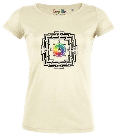 "T-shirt femme BIO ""motif Borobudur"