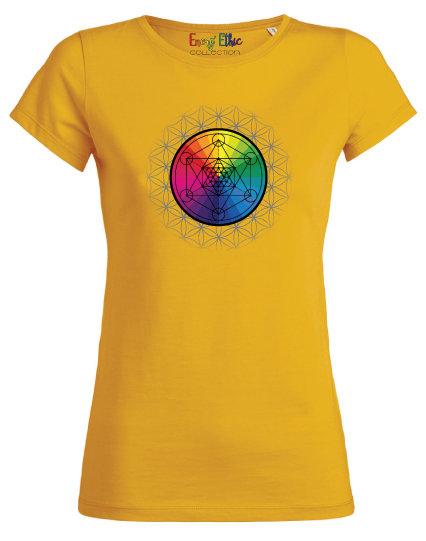 T-shirt femme BIO motif Métatron