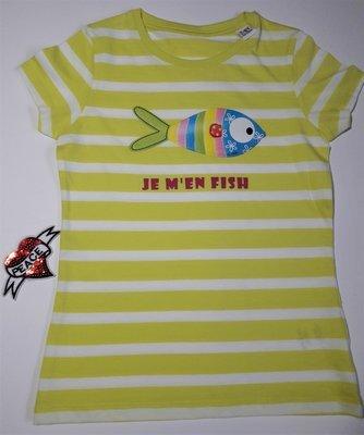 T-shirt BIO marin fille Edition Limitée 5-6 ans