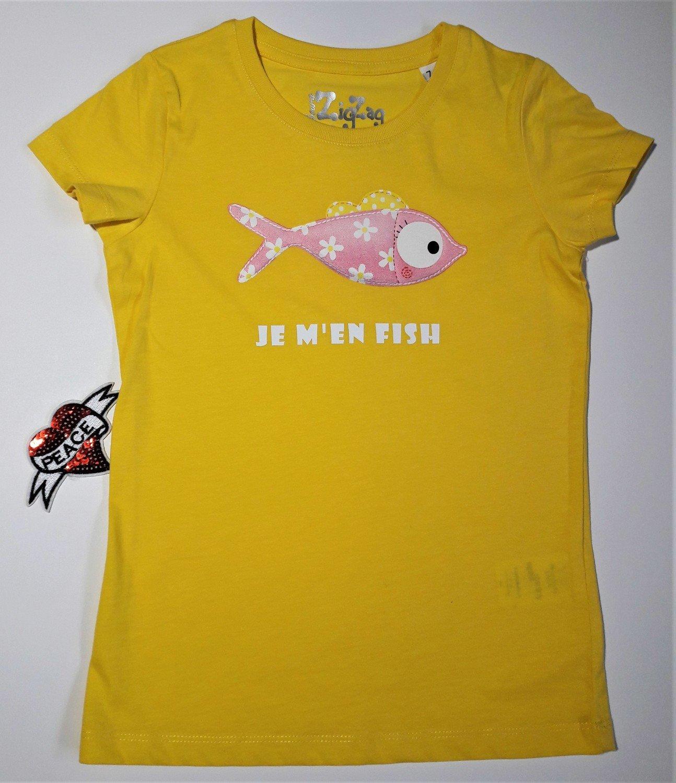 T-shirt BIO  fille 7-8 ans