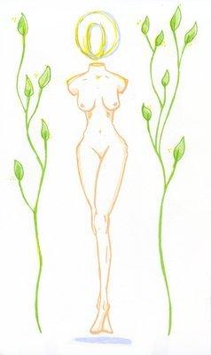 Ajna Goddess Print