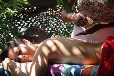 Bougie de massage relaxante