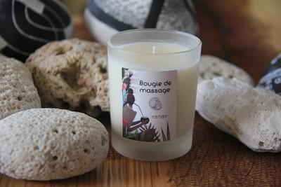 Bougie de massage sensuelle cacao cannelle