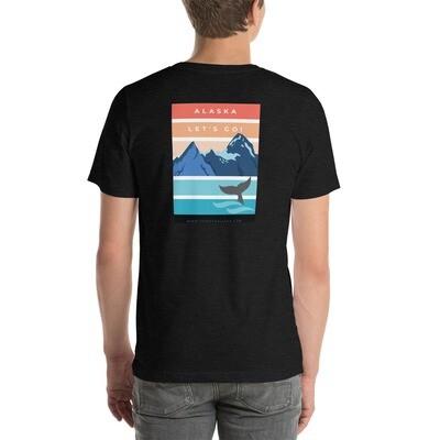 Alaska Let's Go! Short-Sleeve Unisex T-Shirt