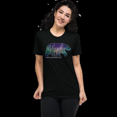 AK Aurora Bear Short Unisex t-shirt
