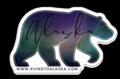 AK Aurora Bear Decal