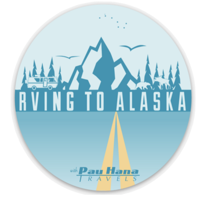 RVing to Alaska Oval