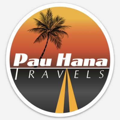 Pau Hana Travels Decal (4