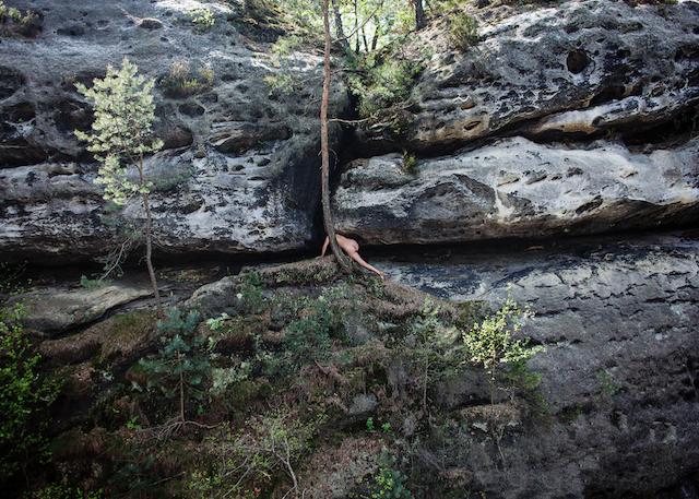 Woman Climbing, Germany