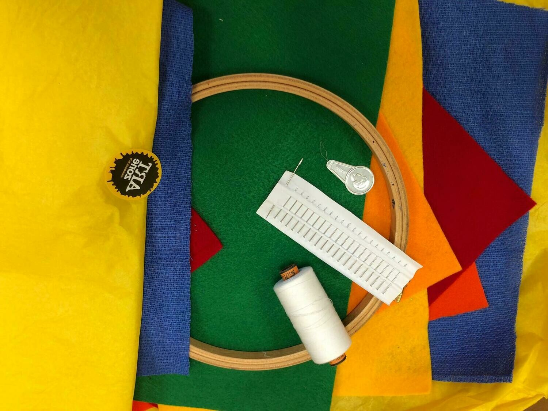 Fabric & Fibre Class Starter Box for 1, 2 or 3