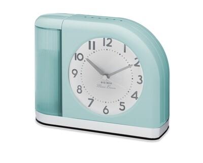 Westclox Big Ben Moon Beam Quartz Analog Alarm Clock Blue with USB 44000BG