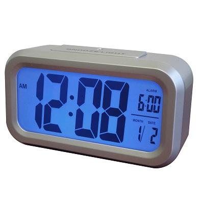 Westclox LCD Alarm Clock 70045