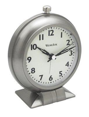 Westclox Classic Alarm Clock Full Size 47602