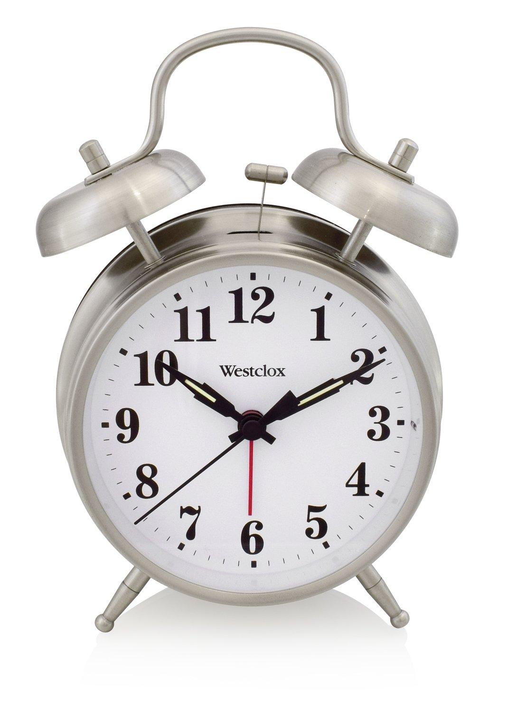 Westclox Twin Bell Alarm Clock 70010