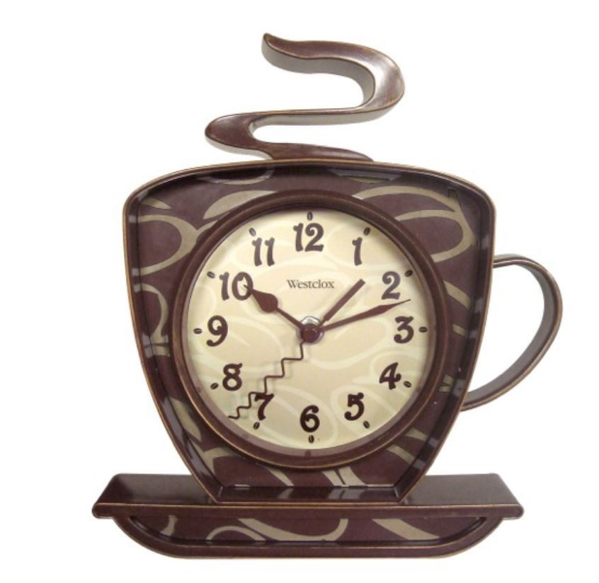 Westclox Coffee Time Wall Clock 32038