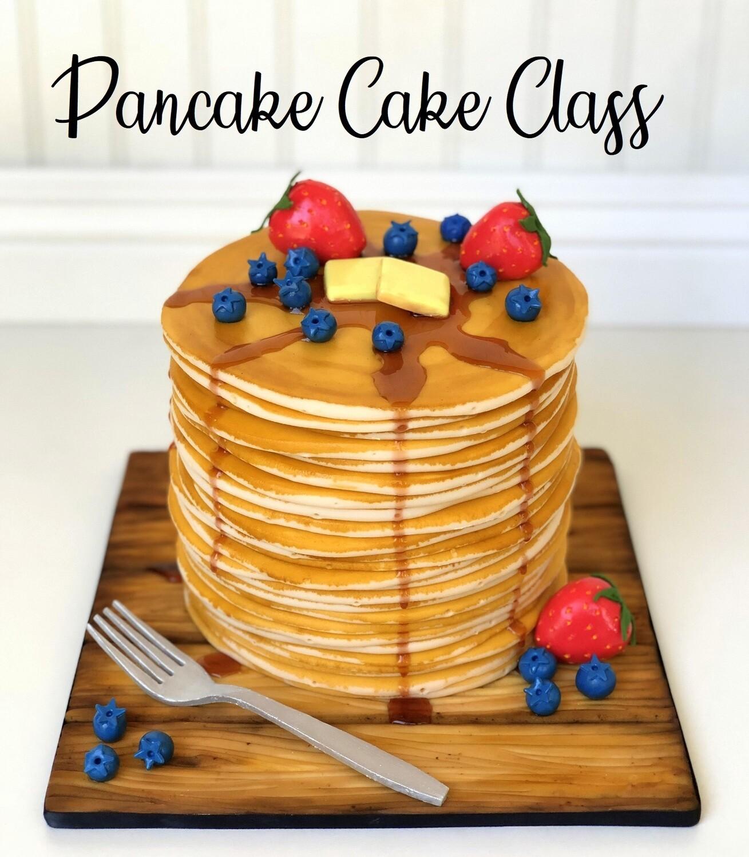 Pancake Cake Class- Online