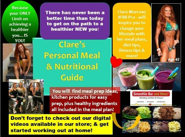 Clare's Personal Meal & Nutritional e Guide!