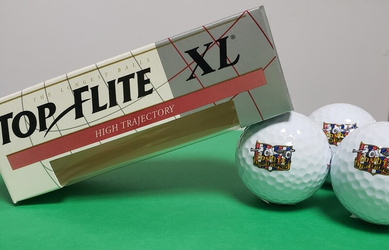Top Flite XL Coyote Enterprises Logo Golf Balls - 3 Pack