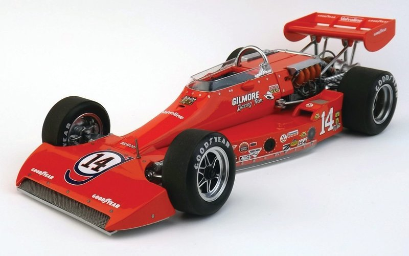 1974 Coyote, Gilmore Racing, Pole Winner Indy 500