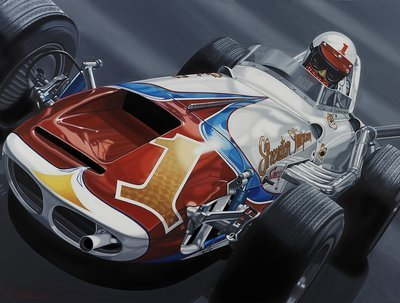 A.J. Foyt Sheraton Thompson Special - Colin Carter Print 1961