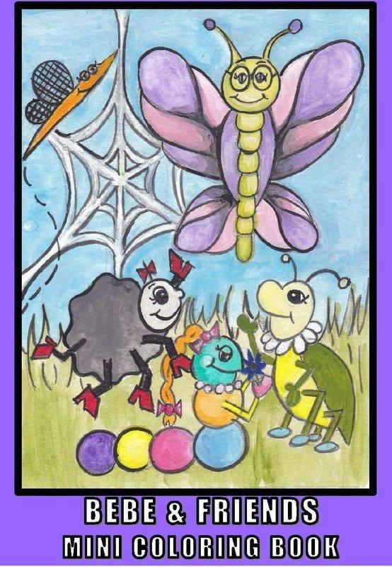 BeBe & Friends Mini Coloring Book