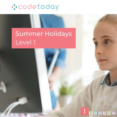 Live Online Coding in Python   Level 1   Summer Holidays 2021